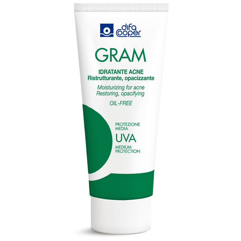 gram, difa cooper, cantabria labs, acne, brufoli