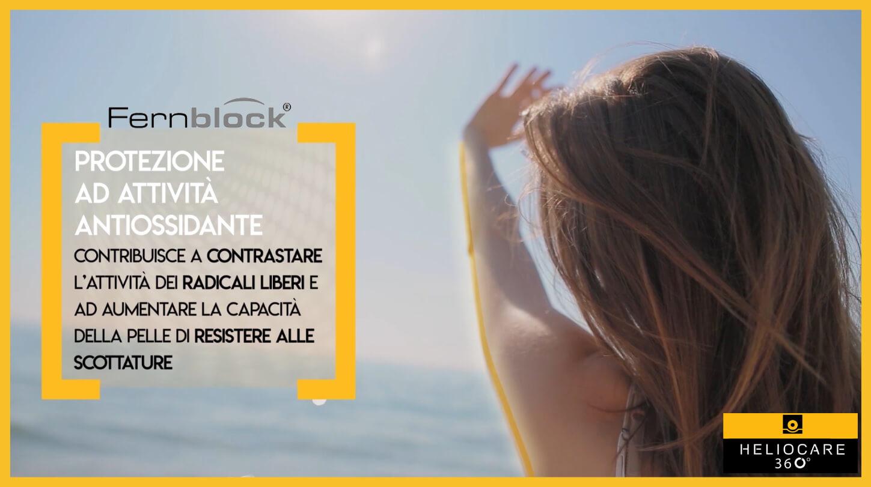 fernblock, pelle, fotoprotezione, donna, sole, protezione, raggi solari, heliocare, cantabria labs, difa cooper